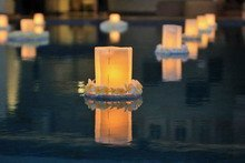 Pool Floating Candles